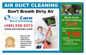Duct Cleaning Special