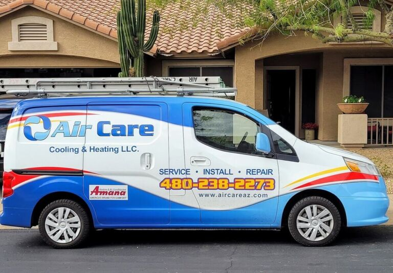 HVAC Service Van Arizona
