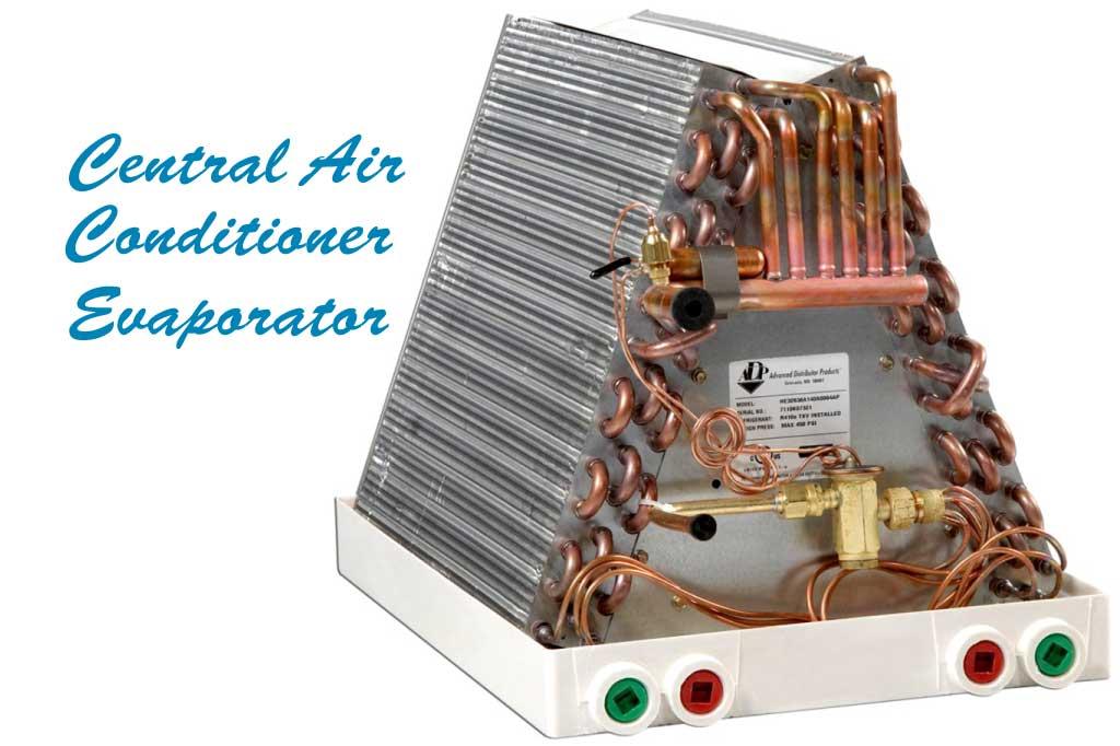 Central Air Conditioner Evaporator
