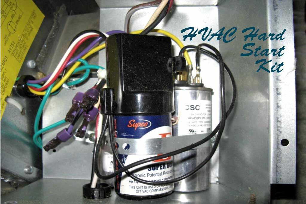 HVAC Hard Start Kit