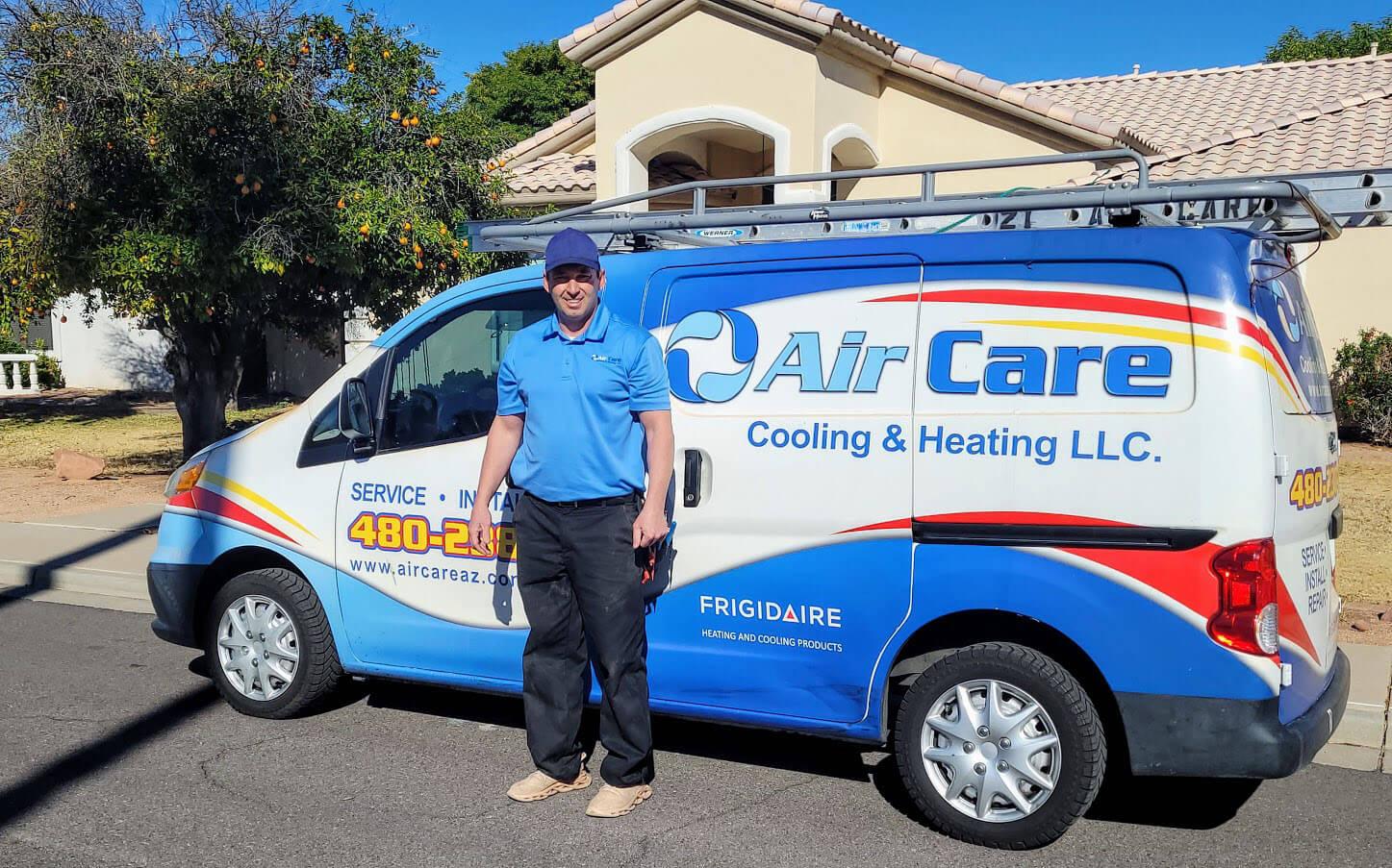 Heating repair service Mesa Arizona