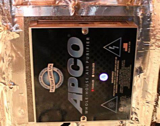 Installing an APCO-X in HVAC Systems