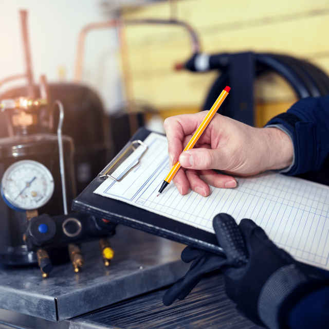 What's included in professional air conditioning Tune Up