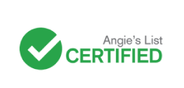 angies list certified logo