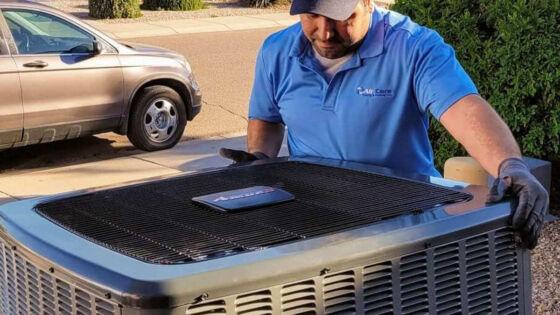 long lasting air conditioning installation