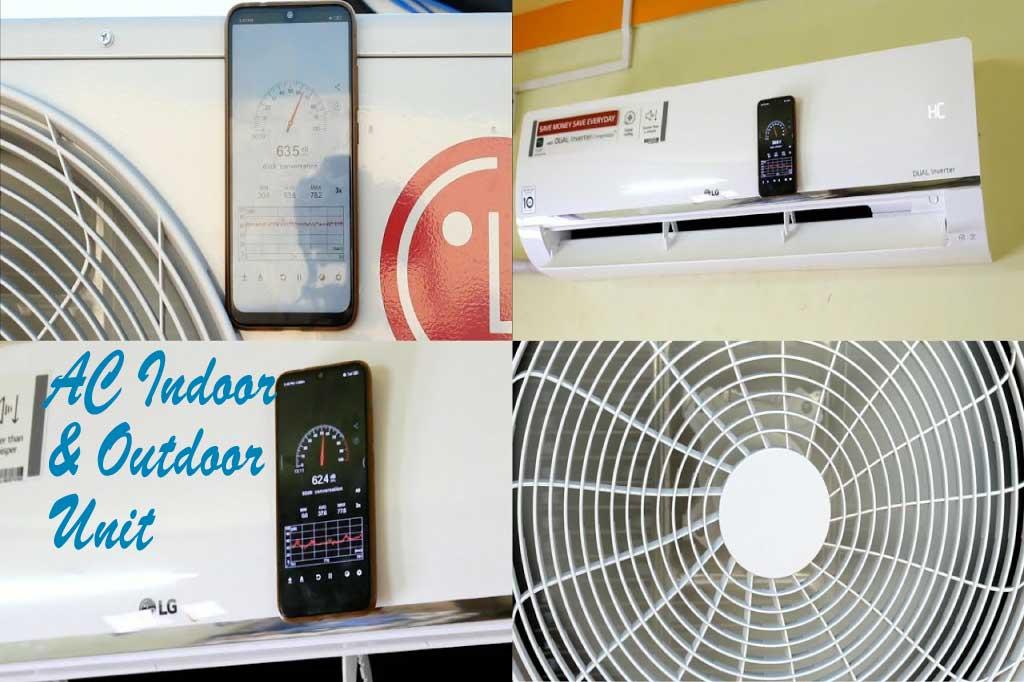 ac indoor and outdoor unit