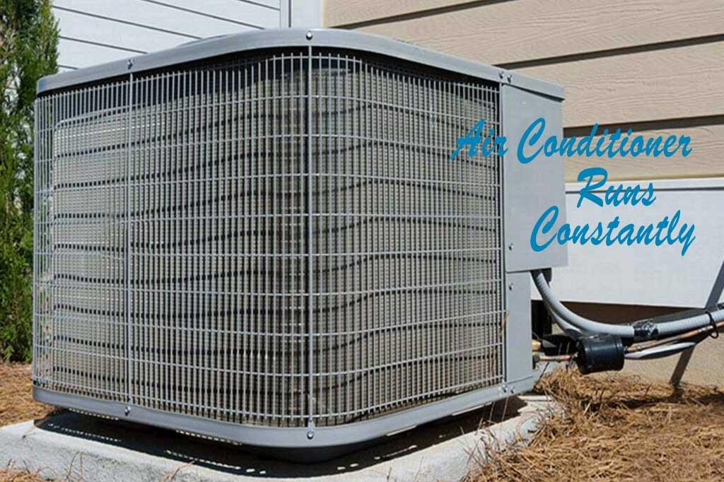 air conditioner runs constantly