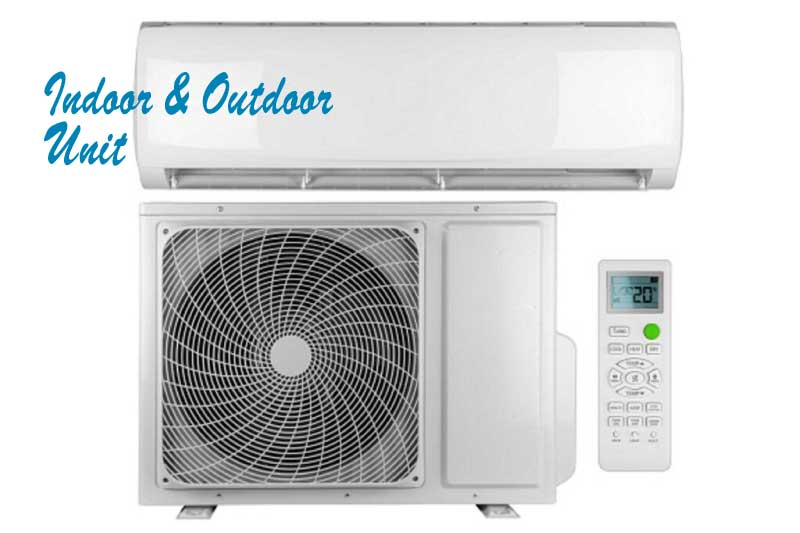 indoor and outdoor unit
