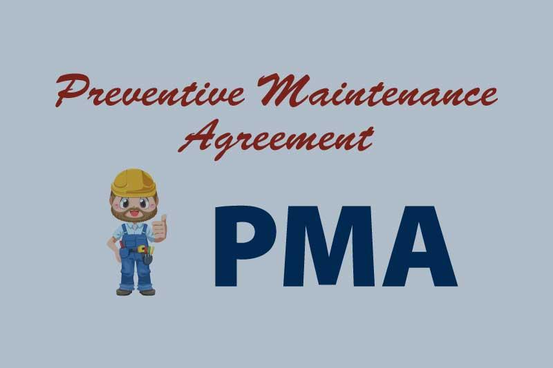 preventive maintenance agreement