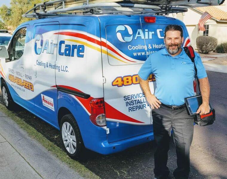 Air Conditioning & Heating Repair in Gilbert, Arizona