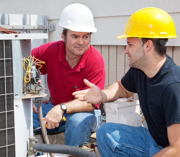 Preventative Maintenance on Heat Pumps