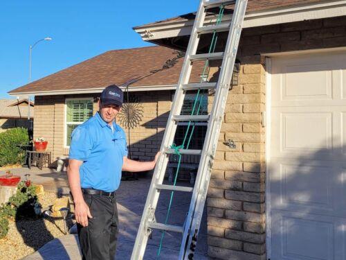 Roof top AC maintenance